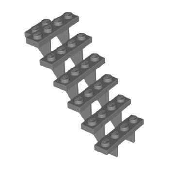 LEGO 4279270 ESCALIER 7x4x6 - DARK STONE GREY
