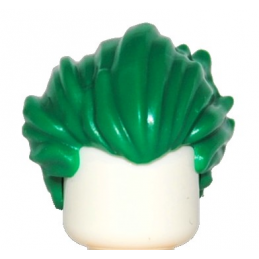 LEGO 6171818 CHEVEUX - DARK GREEN