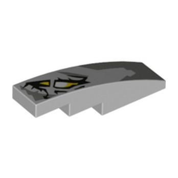 LEGO 6232353 BRIQUE W/ BOW 1X4 - IMPRIME NINJAGO
