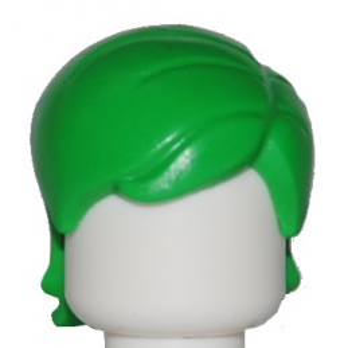 LEGO 6155186 CHEVEUX FEMME - BRIGHT GREEN
