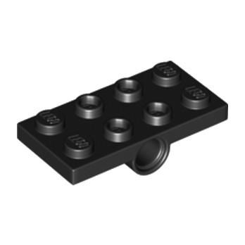 LEGO 6194233 PLATE 2X4, W/ HOLES DIA. 4.85, BOTTOM - NOIR lego-6194233-plate-2x4-w-holes-dia-485-bottom-noir ici :