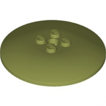 LEGO 6221610 PARABOLE 6X6 - OLIVE GREEN