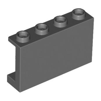 LEGO 6211916 CLOISON 1X4X2 - DARK STONE GREY