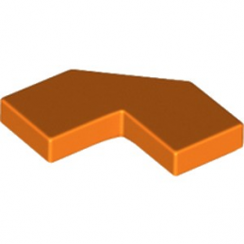 LEGO 6184997 PLATE LISSE 2X2, 2X2, DEG. 90, W/ DEG. 45 - ORANGE
