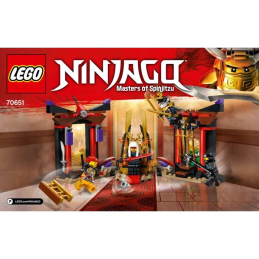 Notice / Instruction Lego Ninjago 70651