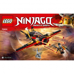 Notice / Instruction Lego Ninjago 70650