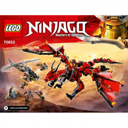 Notice / Instruction Lego Ninjago 70653