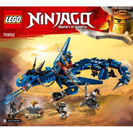 Notice / Instruction Lego Ninjago 70652