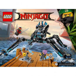 Notice / Instruction Lego Ninjago 70611
