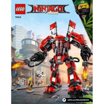 Notice / Instruction Lego Ninjago 70615
