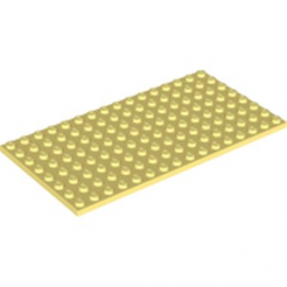 LEGO 6223615 PLATE 8X16 - COOL YELLOW