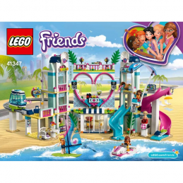 Notice / Instruction Lego Friends 41347