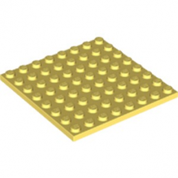 LEGO 6223623 PLATE 8X8 - COOL YELLOW