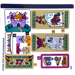 Stickers / Autocollant Lego  Friends - 41334 stickers-autocollant-lego-friends-41334 ici :