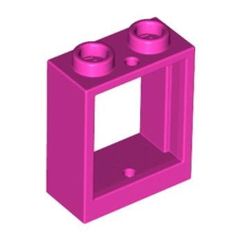 LEGO  6208517 FENETRE 1X2X2 - ROSE