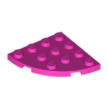 LEGO 6054412 PLATE 4X4, 1/4 CIRCLE - ROSE