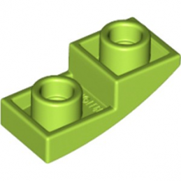 LEGO 6210413 DOME INV. 1X2X2/3 - BRIGHT YELLOWISH GREEN