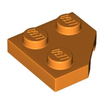 LEGO 6218367 PLATE 2X2, CORNER, 45 DEG. - ORANGE lego-6218367-plate-2x2-corner-45-deg-orange ici :