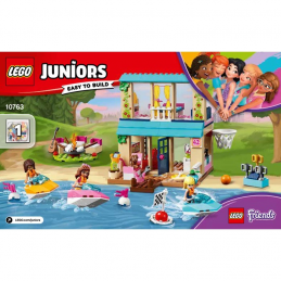 Notice / Instruction Lego Friends 10763