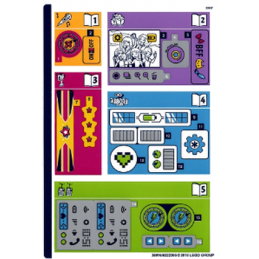 Stickers / Autocollant Lego  Friends - 41346
