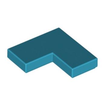 LEGO 6099468 PLATE LISSE ANGLE 1X2X2 - DARK AZUR
