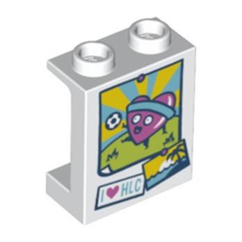 LEGO 6233048 CLOISON 1X2X2 - IMPRIME