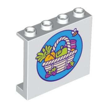 LEGO 6214202 CLOISON 1X4X3 - IMPRIME