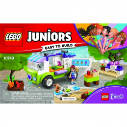 Notice / Instruction Lego Friends 10749