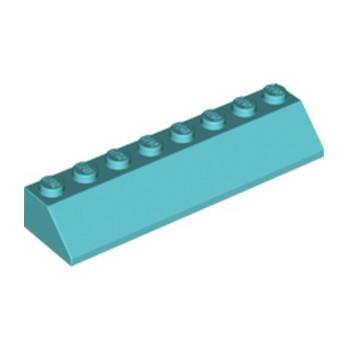 LEGO 6228955 TUILE 2X8/45° - MEDIUM AZUR