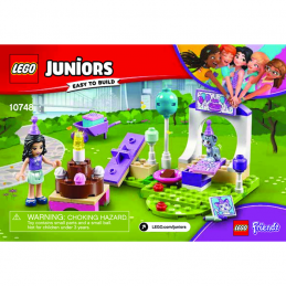 Notice / Instruction Lego Friends 10748