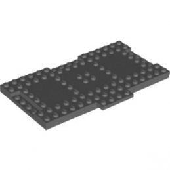 LEGO 6112762 PLATE 8X16X6,4 MM - DARSTONE GREY