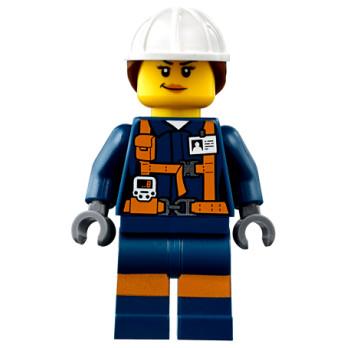 Figurine Lego® City - Ouvrière