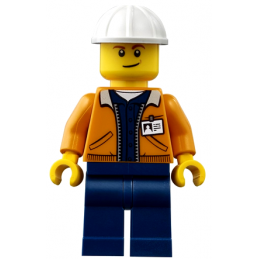 Figurine Lego® City - Ouvrier