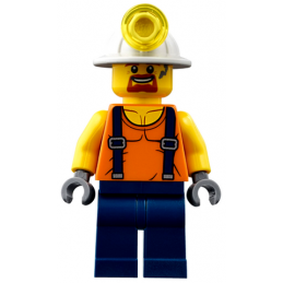 Figurine Lego® City - Ouvrier de la Mine