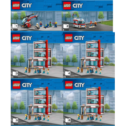 Notice / Instruction Lego  City 60204