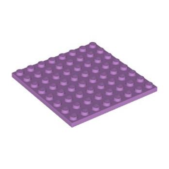 LEGO 6220970 PLATE 8X8 - MEDIUM LAVENDER