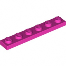 LEGO 6097094 PLATE 1X6 - ROSE  lego-6097094-plate-1x6-rose- ici :