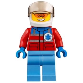Figurine Lego® City - Pilote Hélicotère Urgentiste