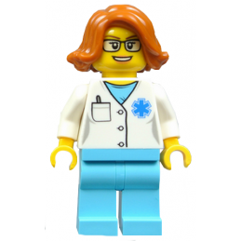 Figurine Lego® City - Infirmière