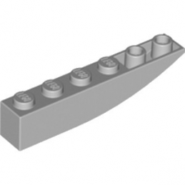 LEGO 6132260 BRIQUE 1X6 W BOW, REV. - MEDIUM STONE GREY