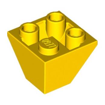 LEGO 4264338 TUILE CORN. INVERT.2X2/45° - JAUNE