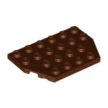 LEGO 6233953 PLATE 4X6 26° - REDDISH BROWN lego-6233953-plate-4x6-26-reddish-brown ici :