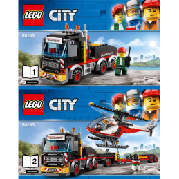 Notice / Instruction Lego City 60183