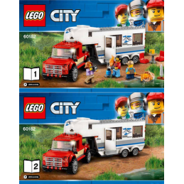 Notice / Instruction Lego City 60182