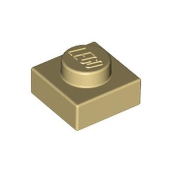 LEGO 4159553 PLATE 1X1 - TAN