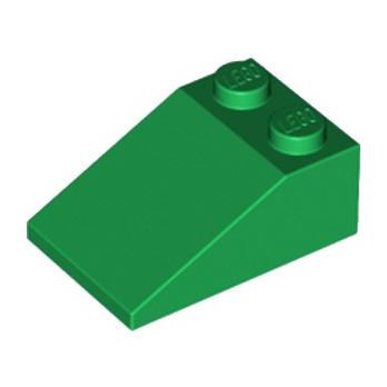 LEGO 6226928 TUILE 2X3/25° - DARK GREEN