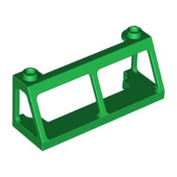 LEGO 6218144 PARE BRISE  2X6X2 - DARK GREEN lego-6218144-pare-brise-2x6x2-dark-green ici :