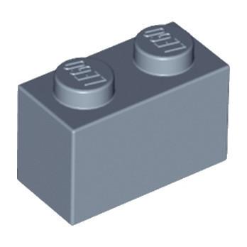 LEGO 6177142 BRIQUE 1X2 - SAND BLUE lego-6177142-brique-1x2-sand-blue ici :