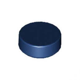 LEGO 6219601 PLATE LISSE ROND 1X1 - EARTH BLUE