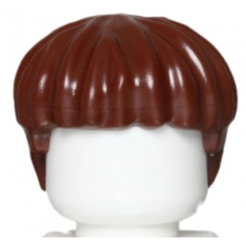 LEGO 6030708 CHEVEUX HOMME - REDDISH BROWN